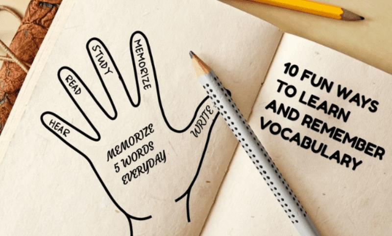 Как учить английские слова