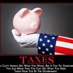 taxesdemotivator