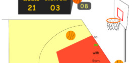 Игра basketball.