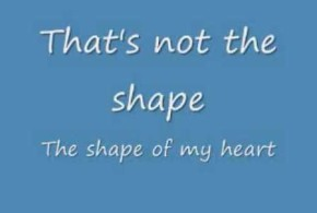 sting – shape of my heart lyrics
