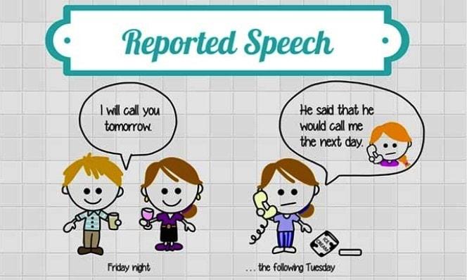 Косвенная речь в английском языке