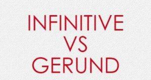 Инфинитив и герундий в английском языке