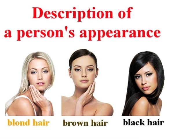 Описание внешности человека