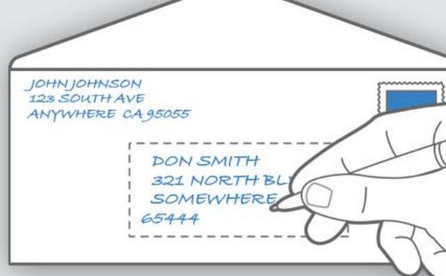 Адрес на английском для отправки в США