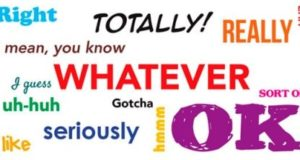 Слова-паразиты в английском языке