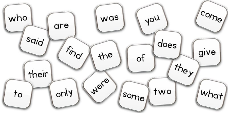 Короткие слова английского языка