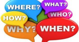 Специальные вопросы в английском языке