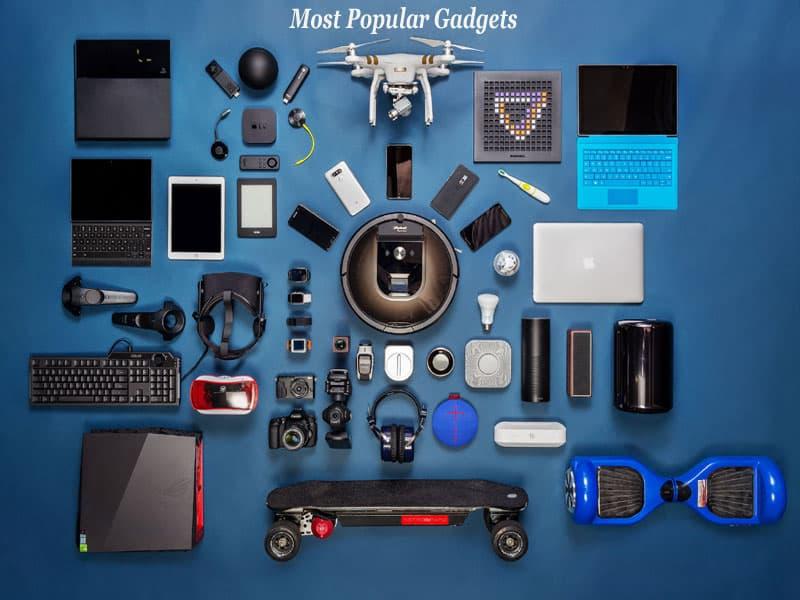 Most popular gadgets