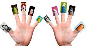 Названия пальцев на английском языке