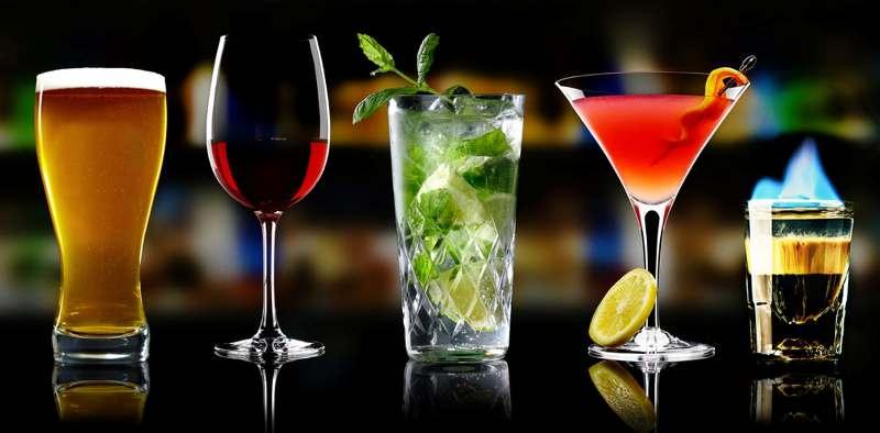 Разновидности алкогольных напитков по-английски