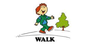 Формы глагола walk