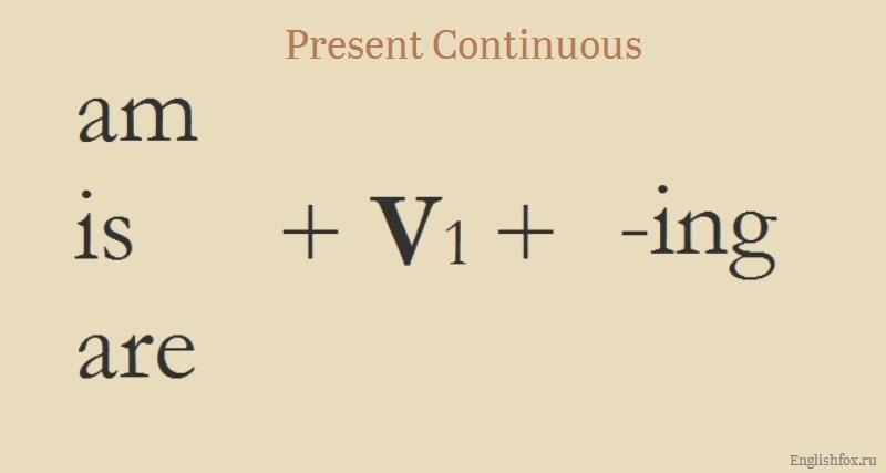 PresentContinuousTense
