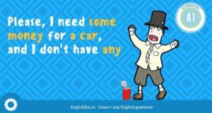 Употребление some, any в английском языке