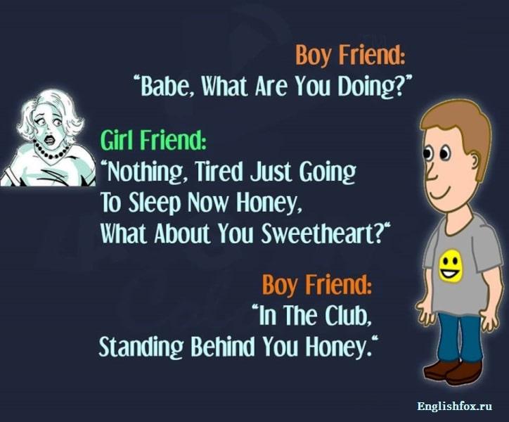 Лучшие анекдоты на английском языке