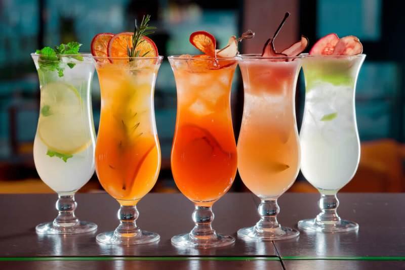 Алкогольные напитки на английском